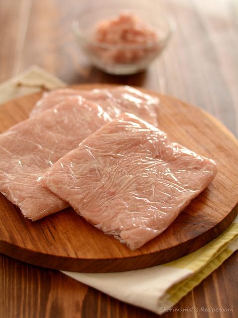 鶏むねひき肉3