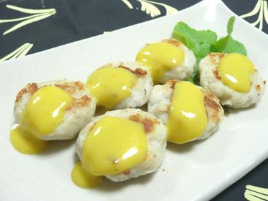 里芋団子の黄身味噌がけ~柚子風味