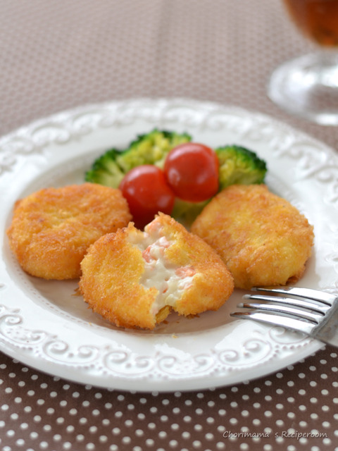 鮭クリームコロッケ2