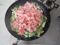 牛ねぎ炒めのっけサラダP