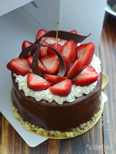 晩ごはん180626_誕生日ケーキ