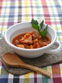 牛肉と野菜のトマト煮込みR