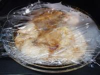 中華風レンジ蒸し鶏P4