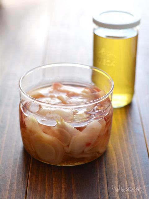 新生姜のらっきょう酢漬け170528