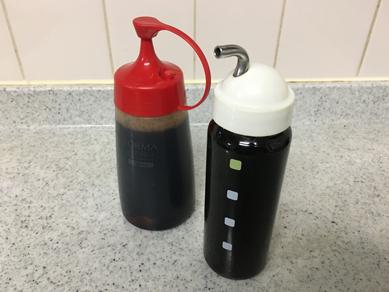 昆布醤油_にんにく醤油