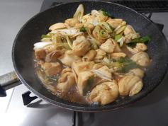 鶏肉のねぎオイスター醤油炒め190108-P5