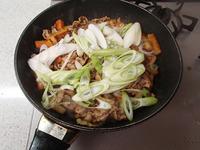 豚肉と長いもの香味甘醤油炒めP3