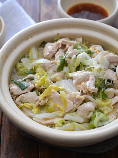 鶏白菜ごま油鍋R3