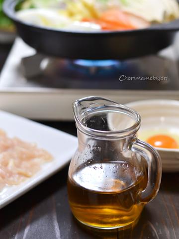 鶏塩すき焼き140208-2