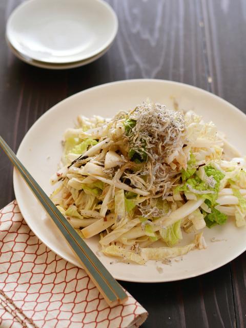 純白塩昆布ドレッシングの白菜サラダR2
