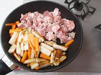豚肉と長いもの香味甘醤油炒めP2