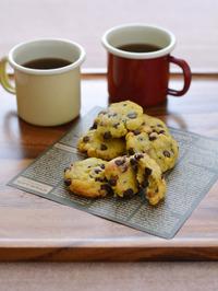 さつまいものチョコチップオイルクッキーR