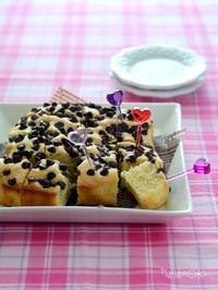 チョコチップアーモンドプチケーキ_献立レシピ1702