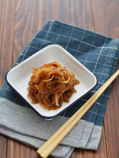 冷凍玉ねぎのおかか醤油漬け_献立レシピ201708-2