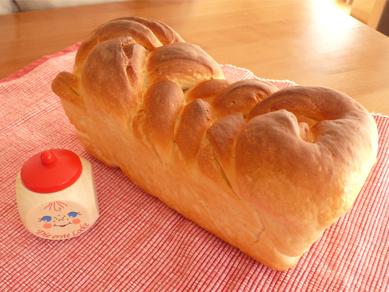 デニッシュ風☆クレイジーソルト食パン