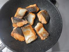 鮭の甘酢照り焼き190729-P2