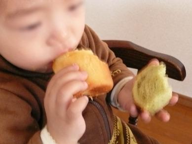 小春ちゃんパンと娘