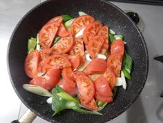 ブリのにんにくトマト照り焼き200325-P4