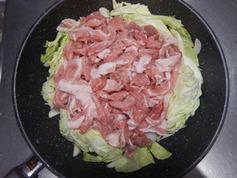 豚トマフライパン蒸し 野菜増し増し190608-P3
