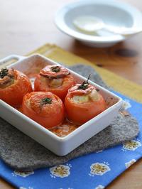 ベーコンチーズのトマトファルシーR