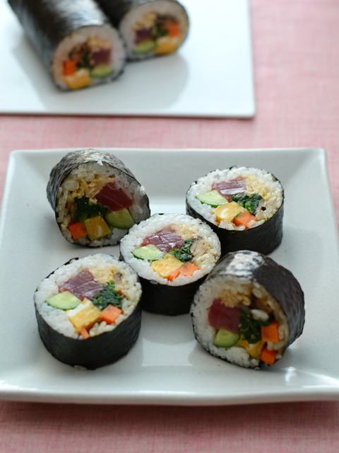 野菜たっぷり太巻き(恵方巻)R