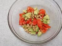 豆とブロッコリーのデリサラダP2
