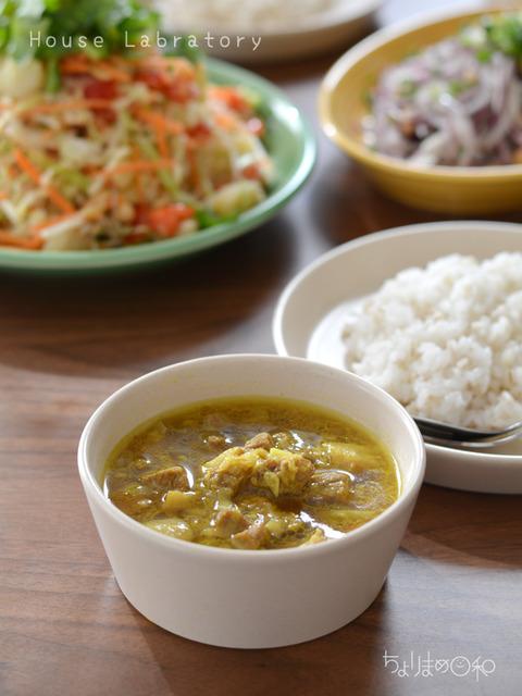 うちラボ181121_ミャンマー料理_豚肉のカレー