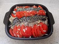 塩サバのフレッシュトマトオーブン焼きP4