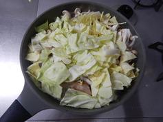 豚肉とキャベツの香味炒め191223-P3