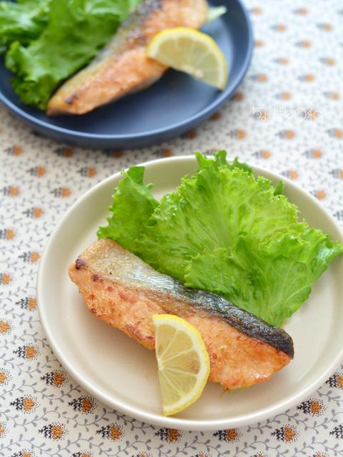 鮭のソテー2