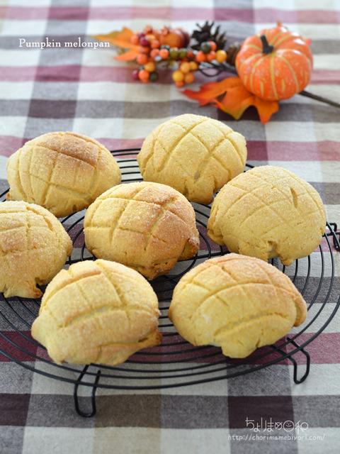 こんがりかぼちゃメロンパン_TOMIZ2010
