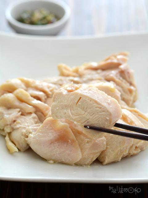 レンジうす塩鶏3