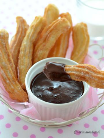 チュロス&ホットチョコレート3_N