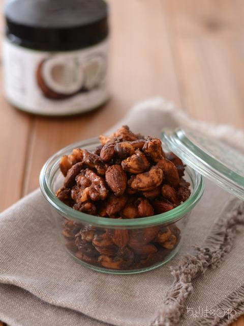 ココナッツ黒糖ナッツ