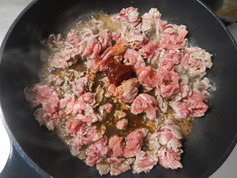 韓国風牛炒めのせ3色ナムル201221-P1