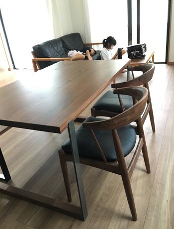 ダイニングテーブル180829-2