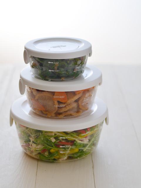 ササミと水菜の塩麹マリネR6