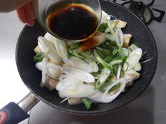 鶏肉のねぎオイスター醤油炒め190108-P4