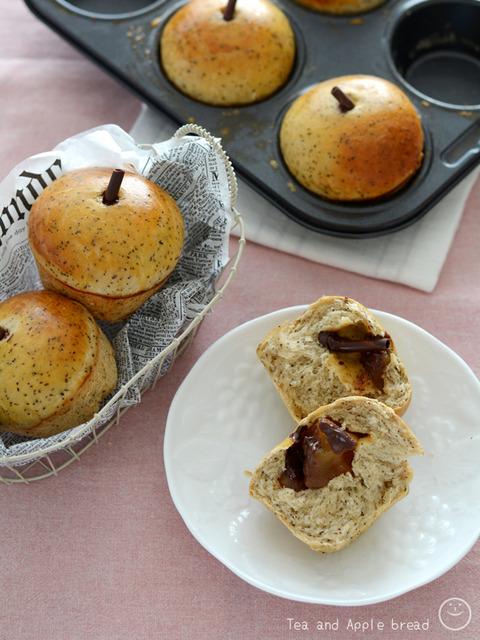 紅茶とりんごのパン_TOMIZ1904