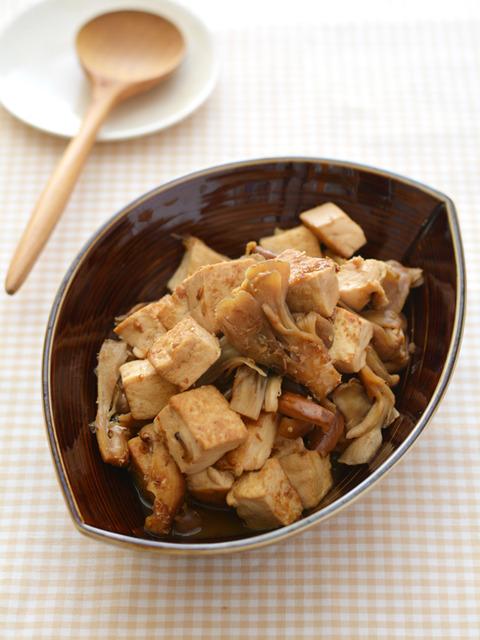 きのこ豆腐_献立レシピ201709-2