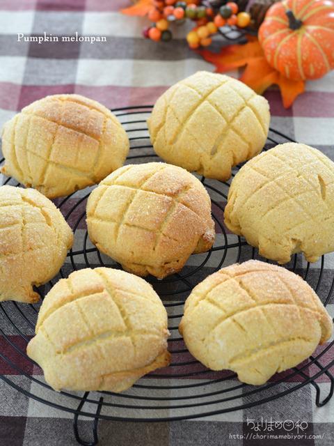 こんがりかぼちゃメロンパン_TOMIZ2010-2