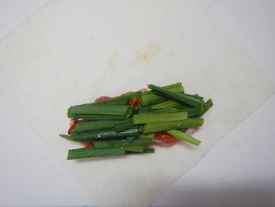 ニラ豚キムチ春巻きP