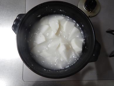 晩ごはん181119_ブリ大根煮P1