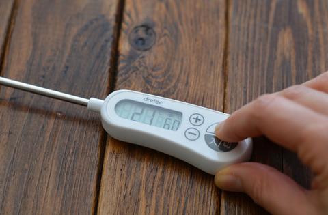 お知らせアラーム付クッキング温度計2