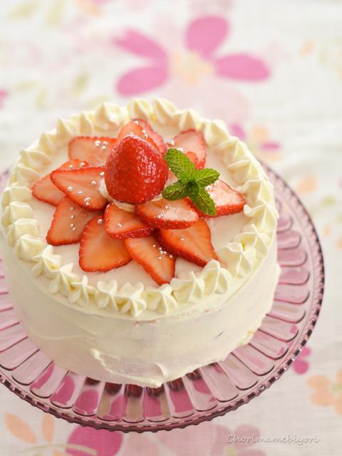 いちごのショートケーキ151219
