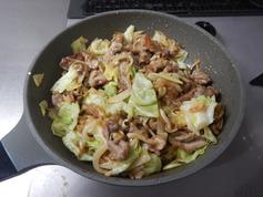 豚肉とキャベツの香味炒め191223-P4
