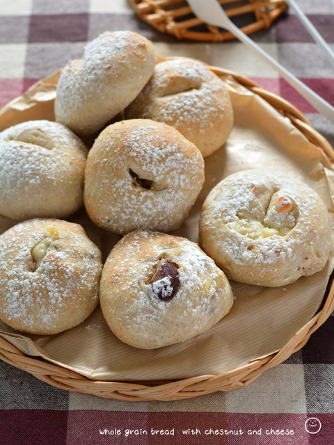 栗とチーズの全粒パン_TOMIZ1910-2