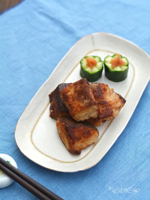 ブリの味醂揚げ焼き161024-2