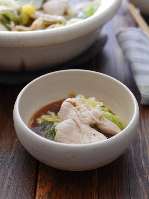 鶏白菜ごま油鍋R4