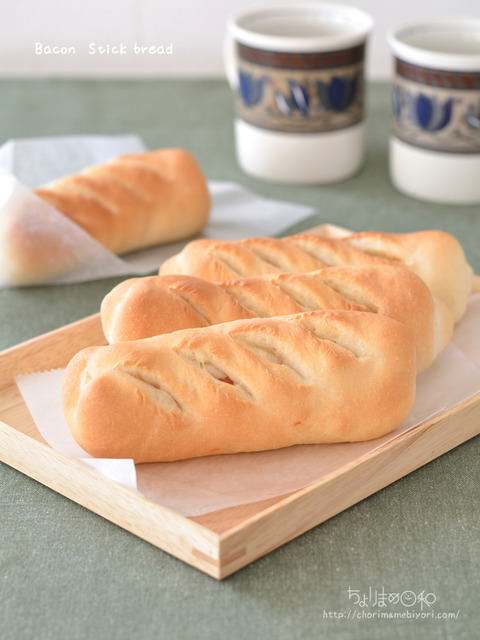 ベーコンスティックソフトフランス_cotta総菜パン2006